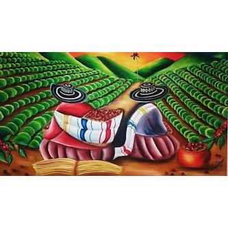 Café en grain de Colombie