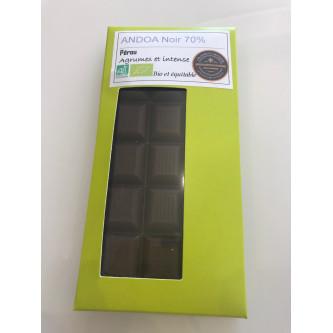 Tablette de chocolat Andoa...